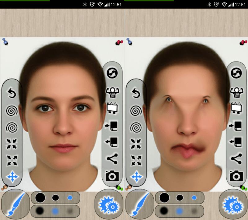 приложение для фото поставить лицо толстых видов